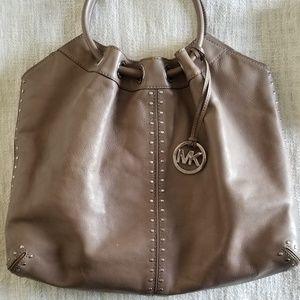 Michael kors leather hand bag